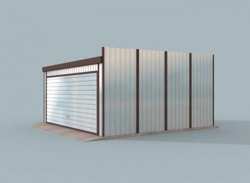 Projekty Domów Drewnianych Pl Garaż Blaszany Gb9