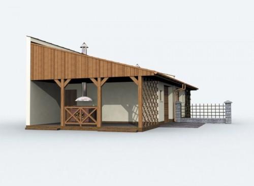 Projekty Domów Drewnianych Pl Projekt Garażu Typu Bliźniak G83